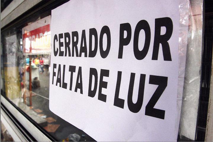 Resultado de imagen para venezuela sin luz