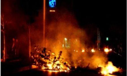 Hubo protestas por apagones en Puerto La Cruz
