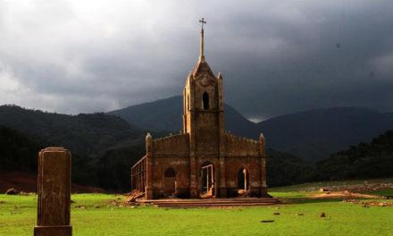 FOTOS   Sequía descubre las ruinas de Potosí en el Uribante-Caparo