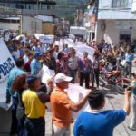 Los trabajadores de Corpoelec siguen protestando y ayer marcharon:  Piden a la inspectoría intervenir