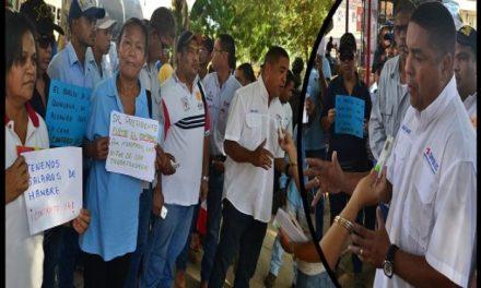 Trabajadores de Corpoelec marcharon en Coro