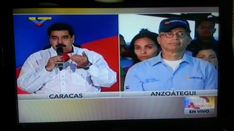 """Maduro pidió aplicar """"mano dura"""" a implicados de Venezuela en caso Odebrecht"""