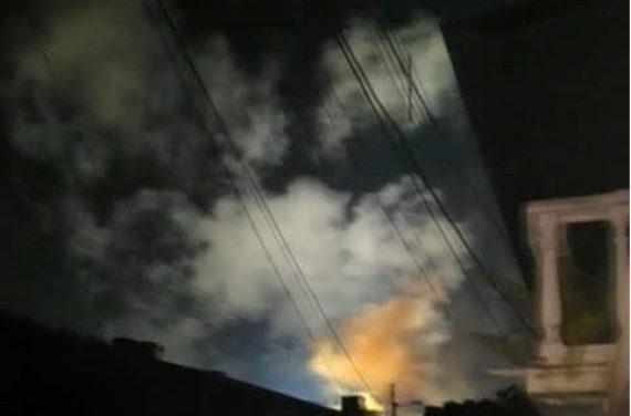 Explosión deja sin luz a media Ciudad Bolívar