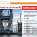 Transparencia emplaza al Gobierno a reasignar obras de Odebrecht con contrataciones públicas