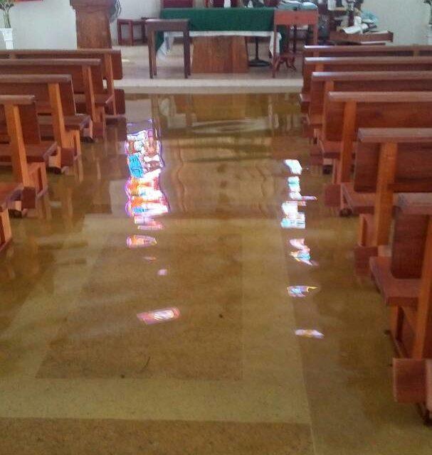 Más de 2 mil personas afectadas por inundaciones tras crecida del Caroní