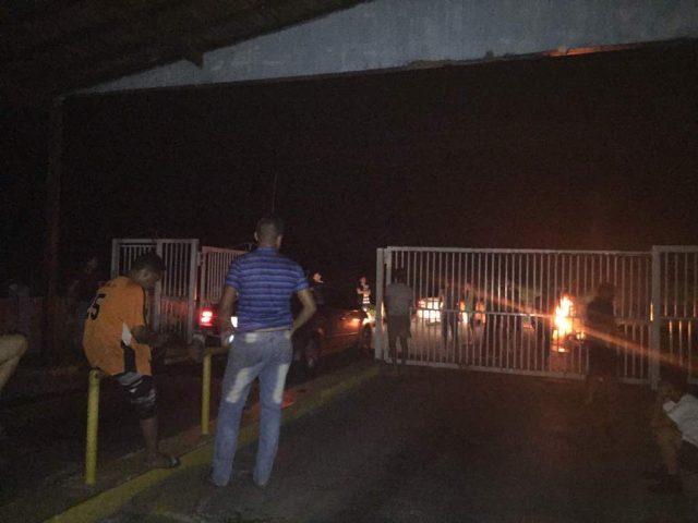 Lomas del Viento protestó por falta de energía eléctrica en Maturín