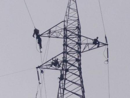 CORPOELEC culminó proyecto de torres 40 y 41 línea de Transmisión 115 kV Araure-Guanare